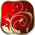 Gold Xmas Theme GO Launcher