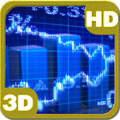 Stock Market Ticker Tape 3D
