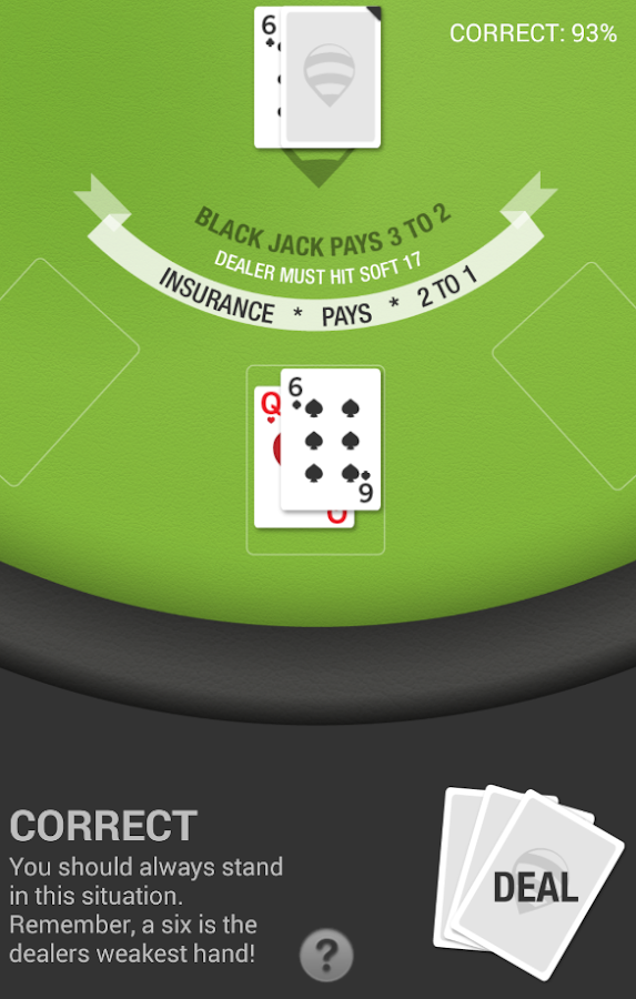 BlackJack Trainer Lite- screenshot