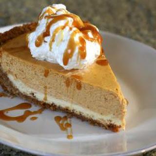 Easy Layered Pumpkin Cheesecake