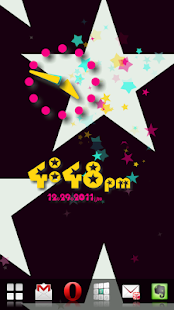 Star Flow! Live Wallpaper - screenshot thumbnail