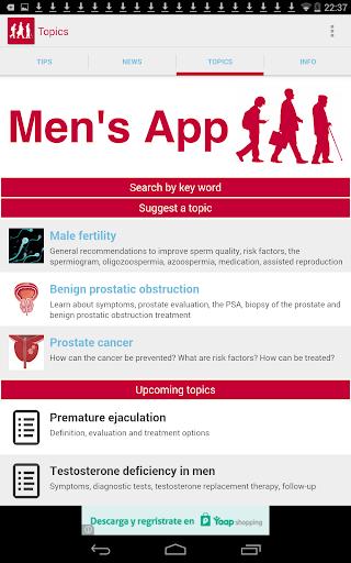 【免費醫療App】Men's App-APP點子