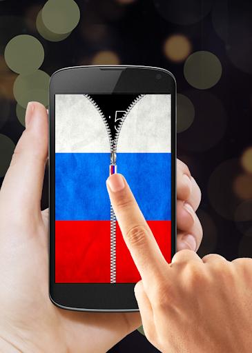 玩免費工具APP 下載俄羅斯國旗拉鍊鎖 app不用錢 硬是要APP