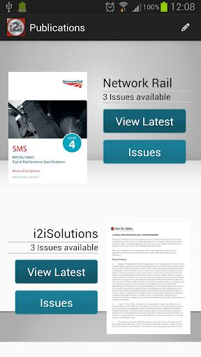 i2i Network Rail Mobile