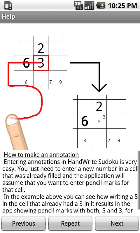 Sudoku (HandWrite) - screenshot