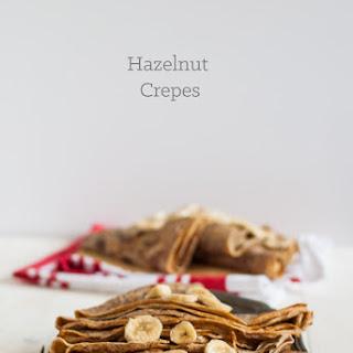 Hazelnut Crepes