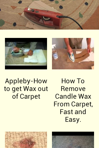 How to Get Wax off Carpets