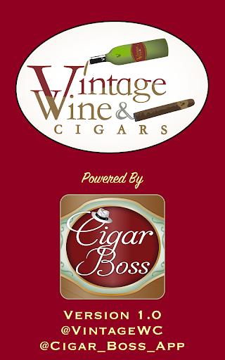 Vintage Wine Cigars