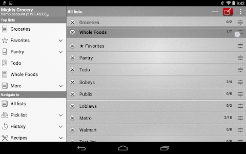 Mighty Grocery Shopping List screenshot 15