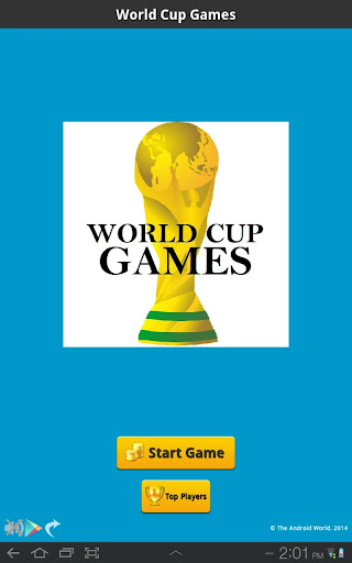 World Cup Games