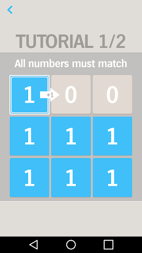 One by One Number puzzle game
