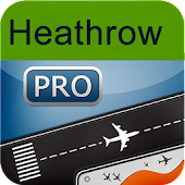 Heathrow Airport+Flight Track