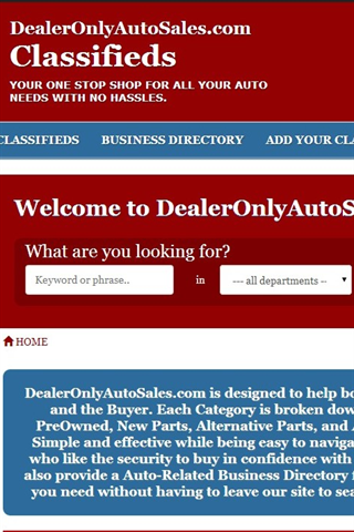 Dealer Only Auto Sales