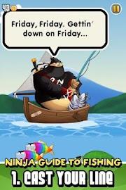 Ninja Fishing Screenshot 2