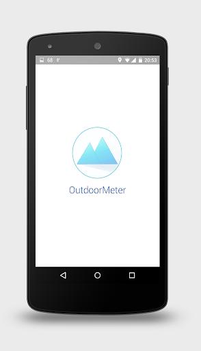 Outdoor Meter GPS Altimeter