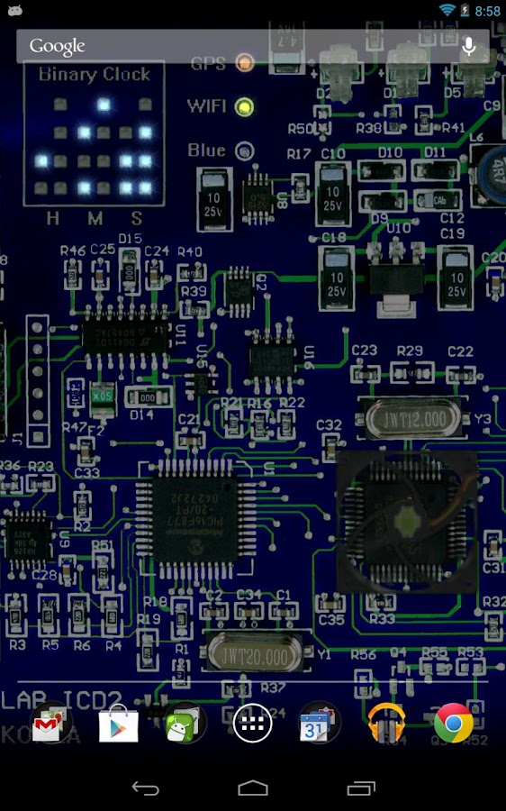 Circuit Board Live wallpaper - Android Apps on Google Play