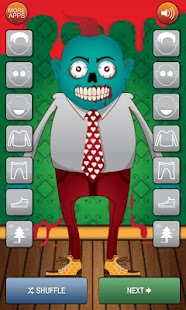 Zombie Dress Up Game - screenshot thumbnail