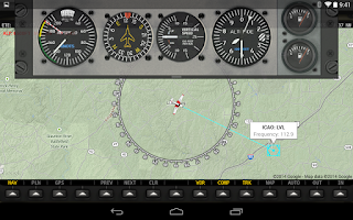 Screenshot of FlightMap