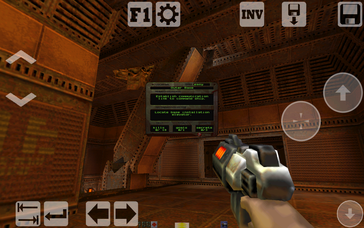 Q2-Touch (Port of Quake 2) - screenshot