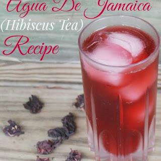 Agua De Jamaica Fresco (Hibiscus Tea)