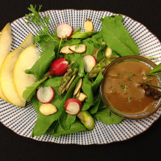 Mango Tarragon Vinaigrette with Pickled Green Peppercorns Recipe