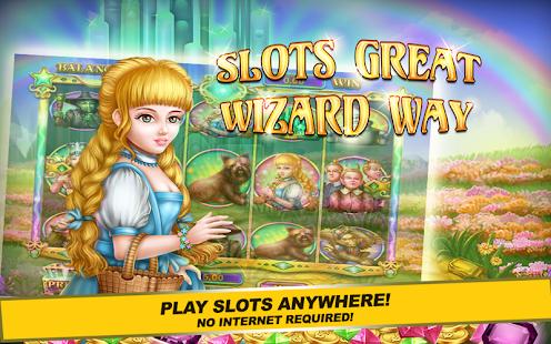Slots Great Wizard Way FREE