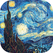 Vincent Van Gogh Set Wallpaper