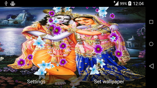 Download Lord Krishna Live Wallpaper For PC