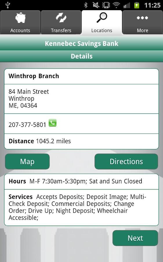 Locations Kennebec Savings Bank Autos Post