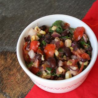 Black Bean and Grilled Corn Salsa