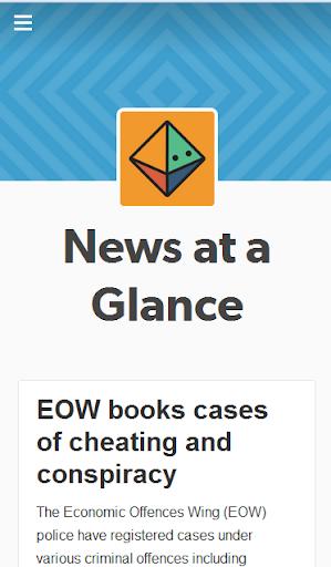 News at a Glance
