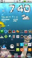 Screenshot of More Icons Free Widget