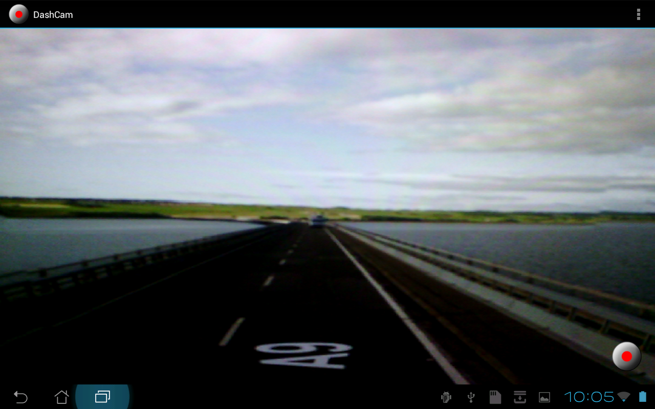 DashCam (Dashboard Camera)- screenshot