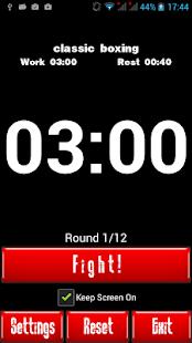 Boxing Interval Timer - screenshot thumbnail