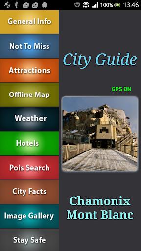 Chamonix Mont Blanc Map Guide