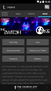 Legacy Church New Mexico - screenshot thumbnail