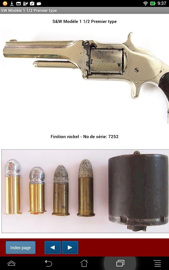 Revolvers Smith Wesson 1 et 2- screenshot