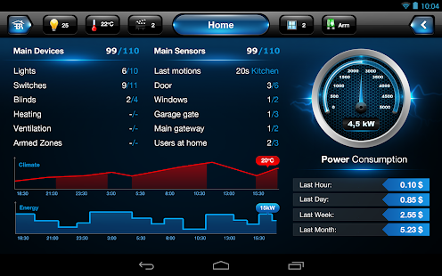 Fibaro for Tablet- screenshot thumbnail