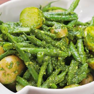 Michael Natkin's Potato and Green Bean Salad with Arugula Pesto