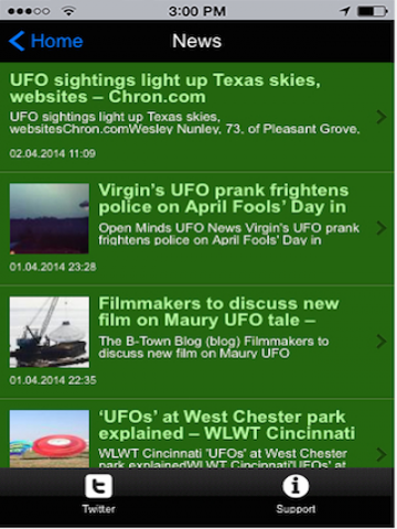 UFOHQ Official App- screenshot