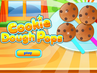 Cookie Dough Pops Cooking Game