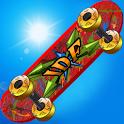 Skate Parkour Mania Free icon
