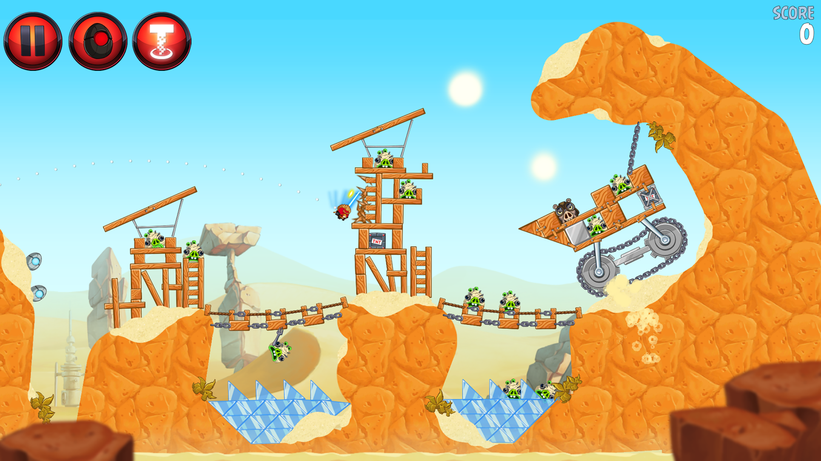 Angry Birds Star Wars II Free- screenshot