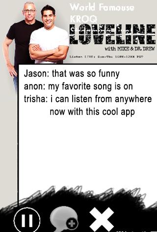 【免費生活App】KROQ Love Line-APP點子