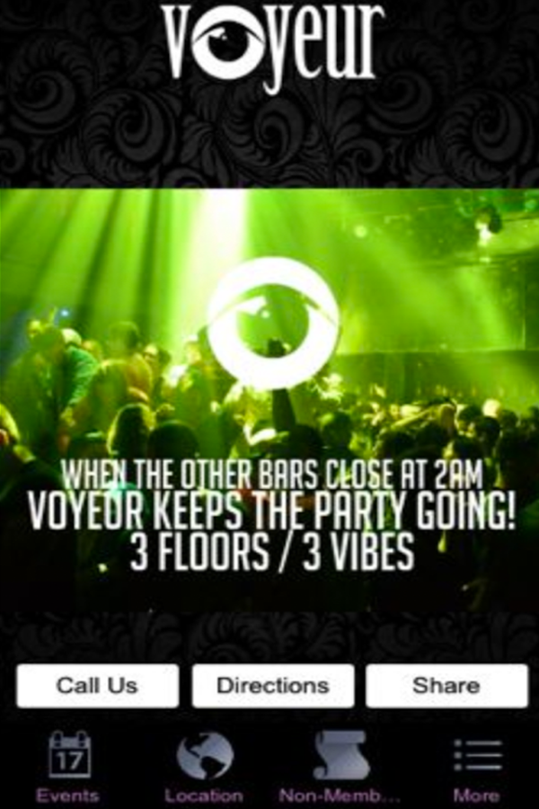 Voyeur Nightclub 89