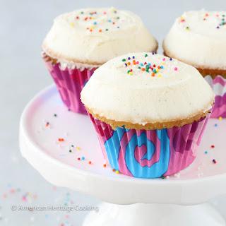 Sprinkles Copycat Vanilla Cupcakes.