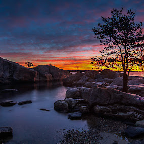 Dawn of tomorrow . by Steffan Hestenes - Landscapes Sunsets & Sunrises ( Love is in the Air, Challenge, photo )