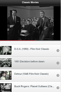 Great Classic Movies - screenshot thumbnail