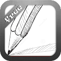 Pencil Sketch Live Wallpaper icon