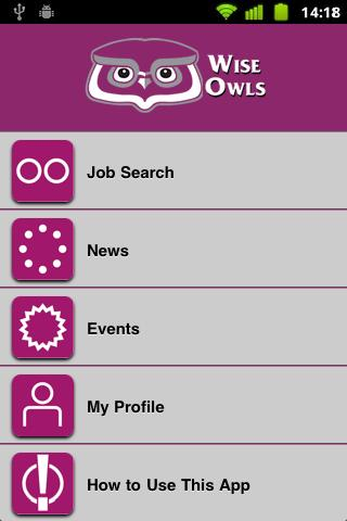 Wise Owls Job Search - screenshot